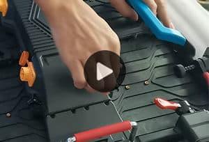 P3.91舞台LED租赁显示屏-电源拆装视频