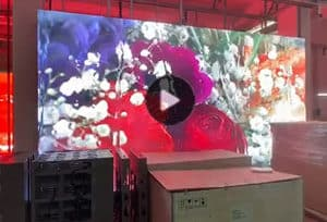 铝模组LED显示屏车间效果欣赏